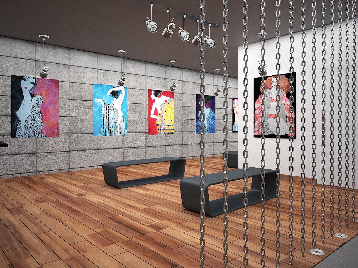 Galeria de arte monique bordin arquitetura - Galerista de arte ...
