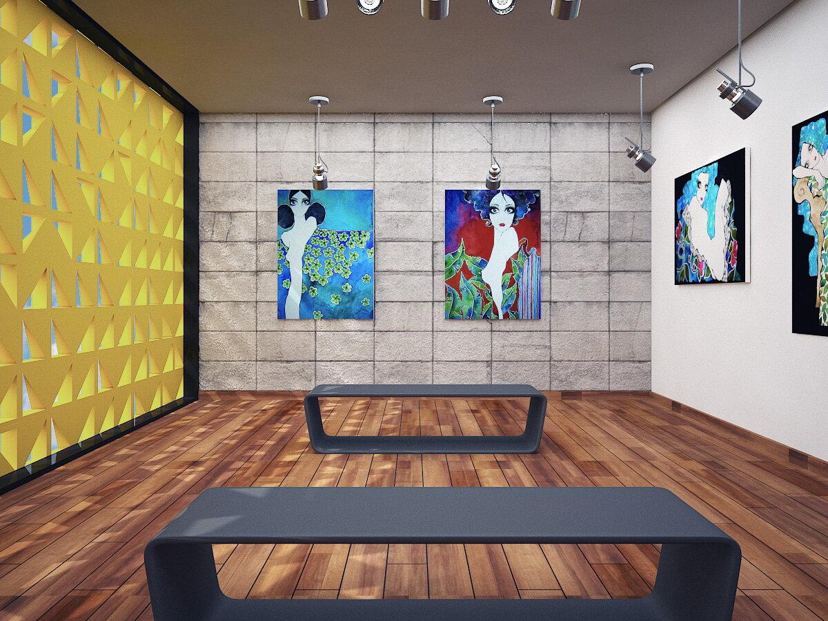Galeria de arte monique bordin arquitetura - Galeria de arte sorolla ...